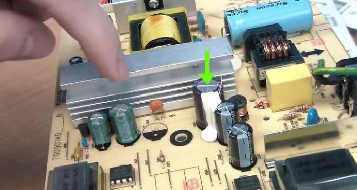 pripojiť kondenzátor dozadu