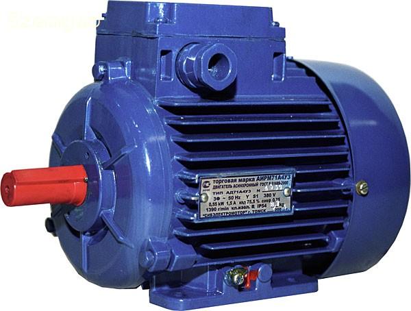 AC motor pripojiť