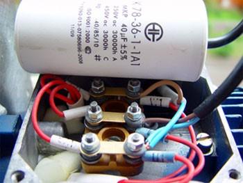 Ako sa vám pripojiť moc kondenzátor