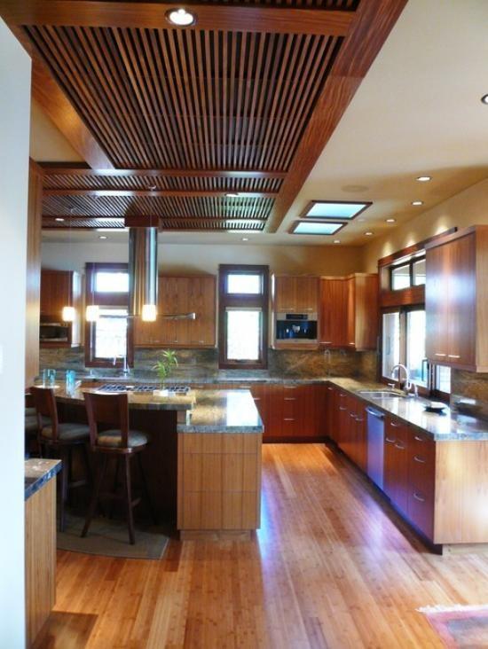 bc63a14b8cd13 Hlavné typy stropných svietidiel pre kuchyňu a vlastnosti ich ...